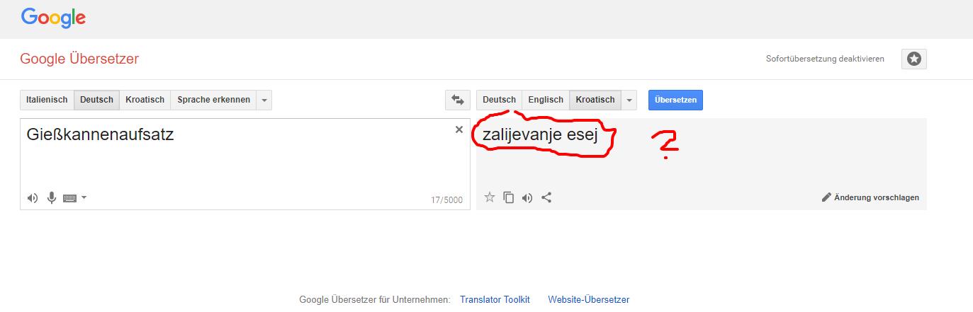 google übersetzer deutsch englisch